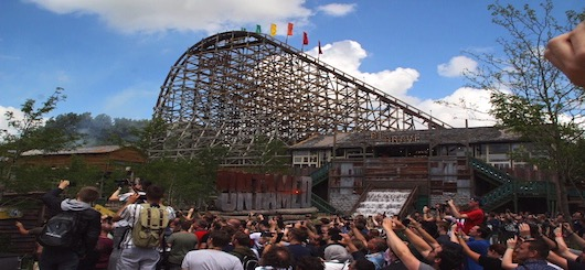 Opening day of Untamed in Walibi Holland